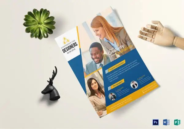 24+ Word Business Flyer Templates Free Download Free  Premium - conference flyers templates free