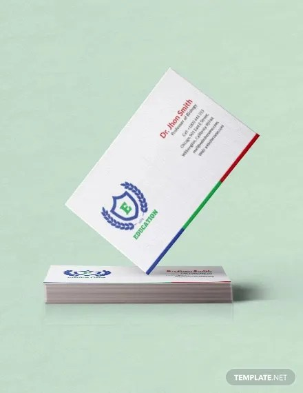 30+ Free Business Card Templates - Word, PSD, Pages Free  Premium