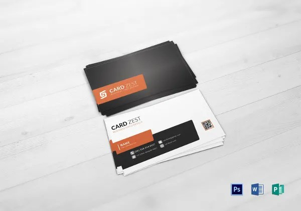 22+ Free Business Card Templates in Word Format Free  Premium