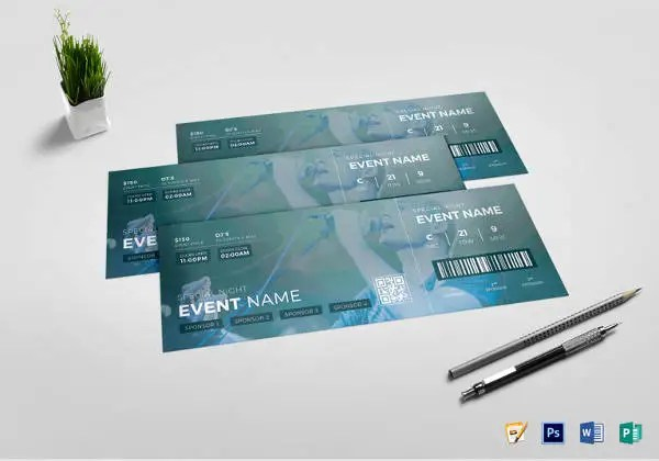 How to Create Tickets for an Event \u2013 Tutorial Free  Premium Templates