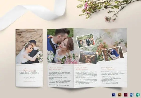 26+ Wedding Brochure Templates \u2013 Free Sample, Example, Format - wedding brochure template