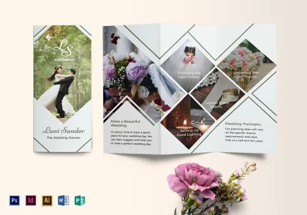 26+ Wedding Brochure Templates \u2013 Free Sample, Example, Format