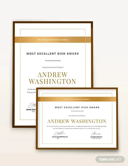 11+ Word Award Templates Download - PSD, AI, Word, InDesign Free