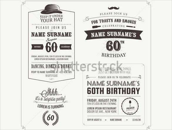 38+ Adult Birthday Invitation Templates - Free Sample, Example