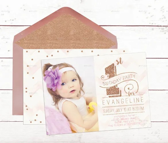 30+ First Birthday Invitations - Free PSD, Vector EPS, AI, Format - free e party invites