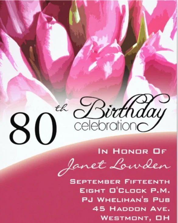 email birthday invitations templates free