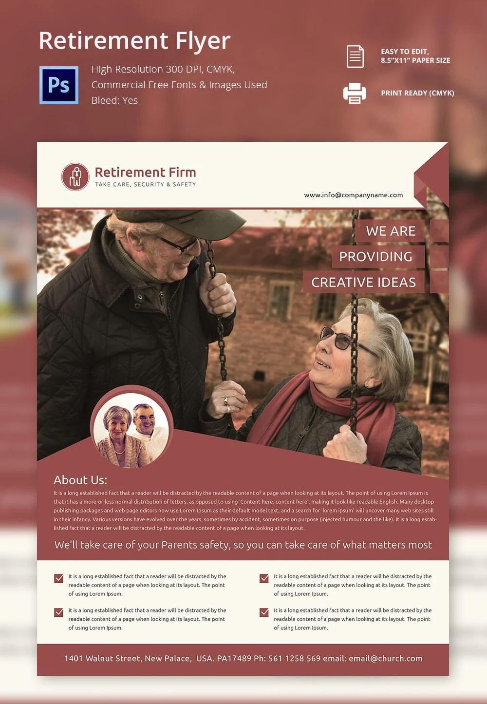 retirement flyer template retirement flyer template makemoney alex tk