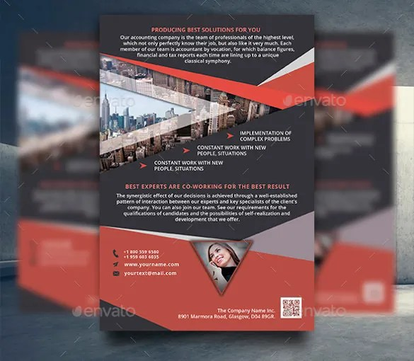 56+ Business Flyer Templates - PSD, AI, InDesign Free  Premium