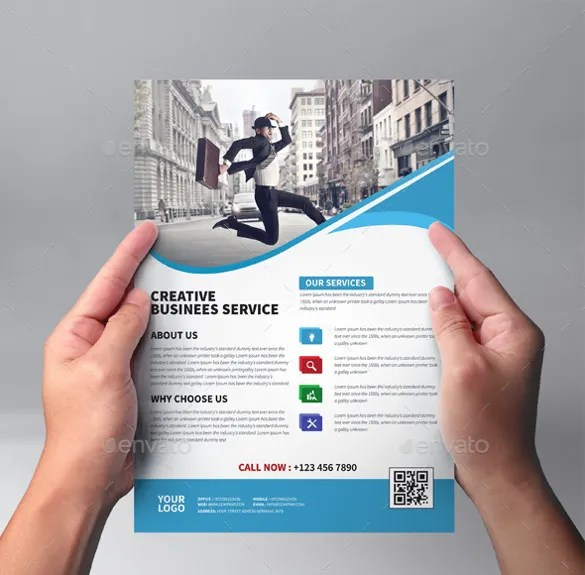 4-Corporate-Business-Flyer-Template-Photoshop-PSDjpg (585×575 - Free Pamphlet Templates Microsoft Word