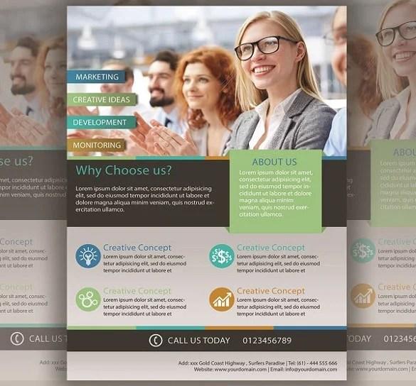41+ Business Flyer Templates \u2013 Free PSD, Illustrator Format Download - free business flyers templates