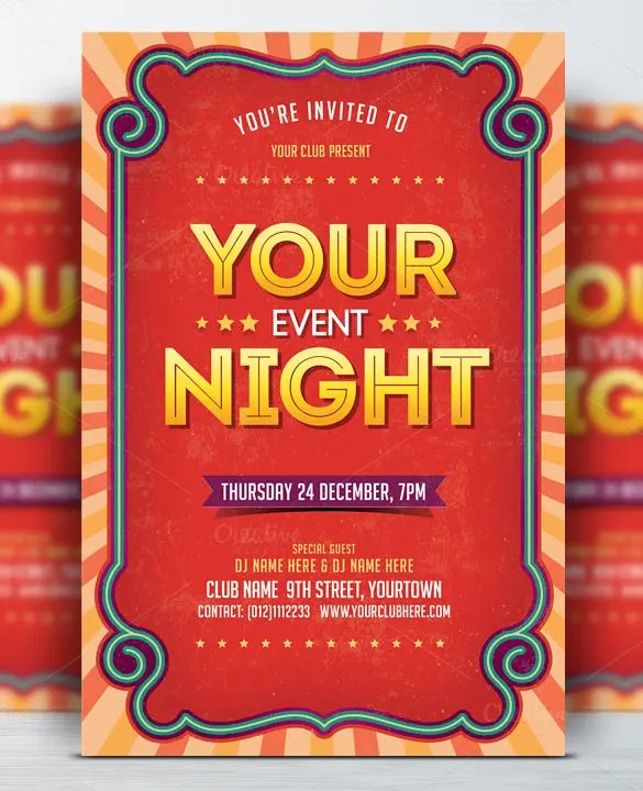 49+ Event Flyer Templates - PSD, AI, Word, EPS Vector Format Free