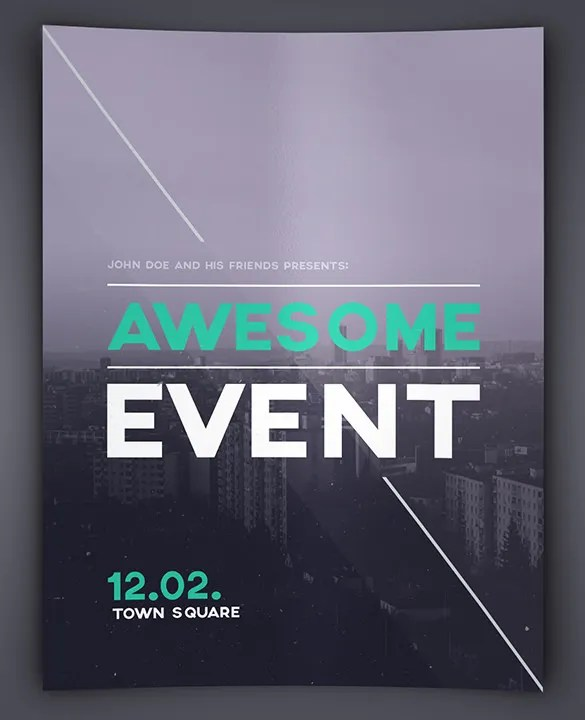 42+ Event Flyer Templates \u2013 Free PSD, AI, Illustrator Format