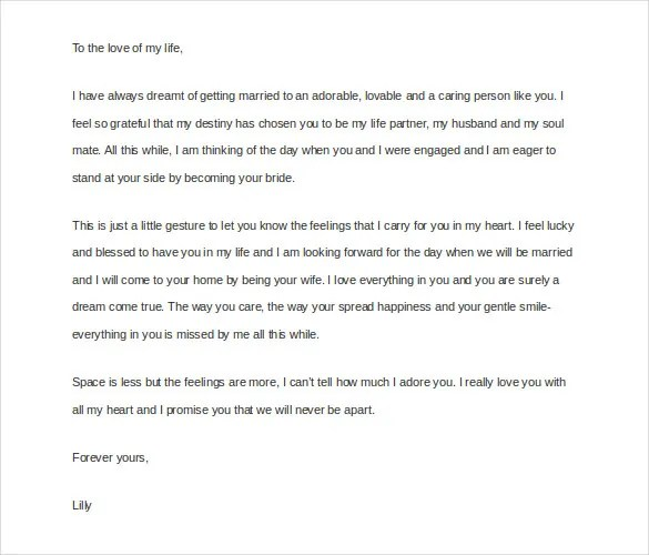 12+ Love Letter Templates to My Husband - DOC Free  Premium Templates