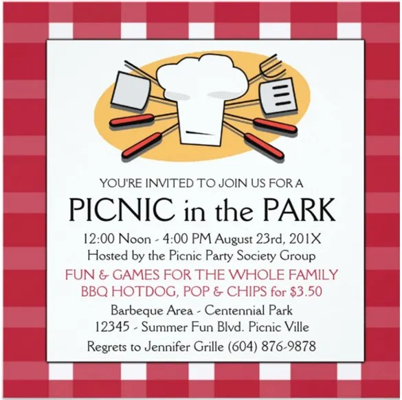 company picnic flyer template free - Selol-ink - company party invitation templates
