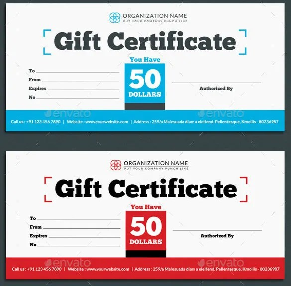 20+ Restaurant Gift Certificate Templates \u2013 Free Sample, Example - gift voucher templates for word