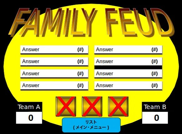Family Feud PowerPoint Template \u2013 8+ Free PPT, PPTX Documents