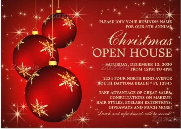 holiday invitation templates free download - Selol-ink