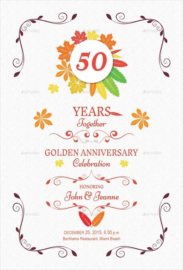 Anniversary Invitation Templates \u2013 28+ Free PSD, Vector EPS, AI