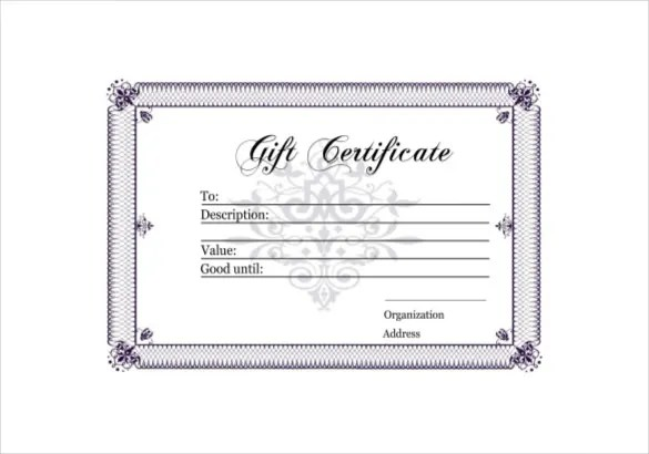 homemade gift vouchers - Onwebioinnovate
