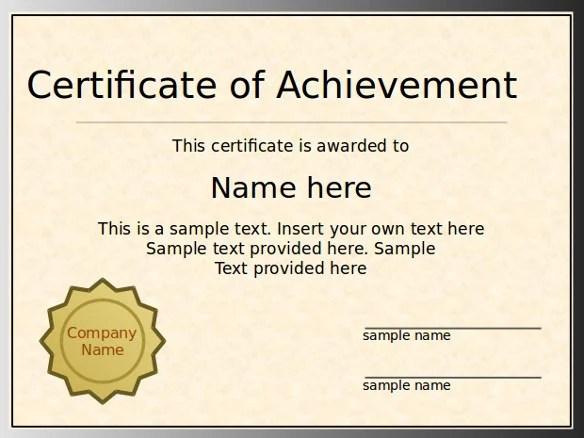 Samples Certificate Free Diploma Certificate Template For - sample certificate templates