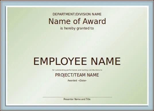 PowerPoint Certificate Template \u2013 8+ Free PPT, PPTX Documents