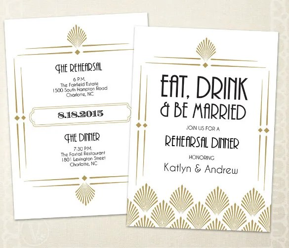 32+ Dinner Invitation Templates u2013 Free Sample, Example, Format - dinner invitation template