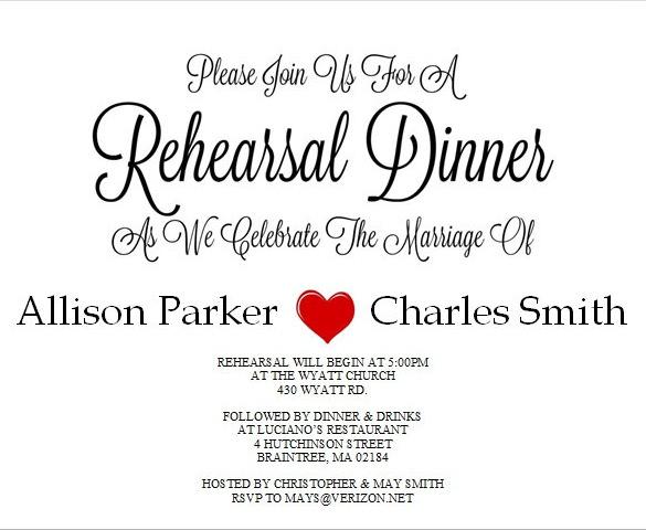 40+ Dinner Invitation Templates - Free Sample, Example, Format - free dinner invitation templates printable