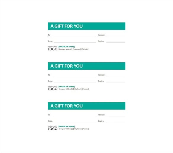 Business Gift Certificate Template \u2013 11+ Free Word, PDF Documents - create a voucher template