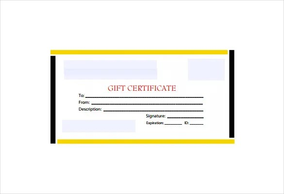 19+ Business Gift Certificate Templates - Word, PSD, AI Example