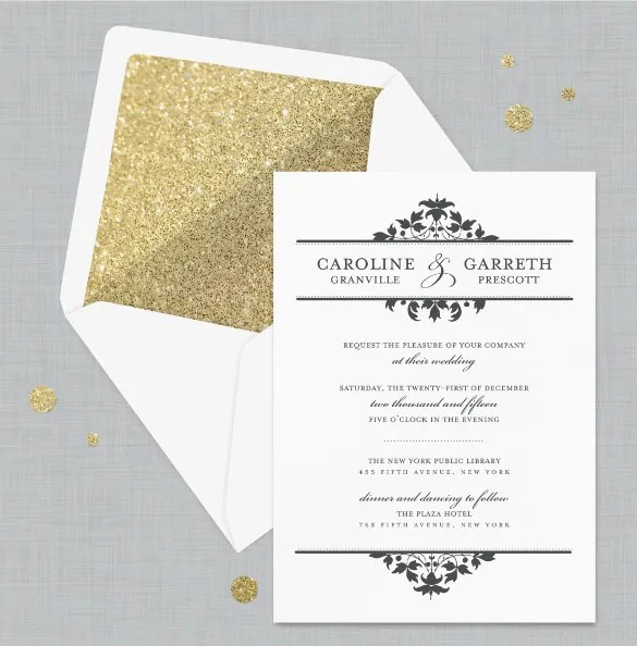 Formal Invitation Template - 33+ Free Sample, Example, Format - posh invitation wording