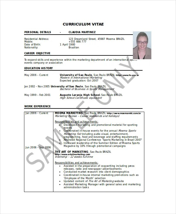 Microsoft Work Resume Template - 8+ Free Word, PDF Documents - Official Resume Template