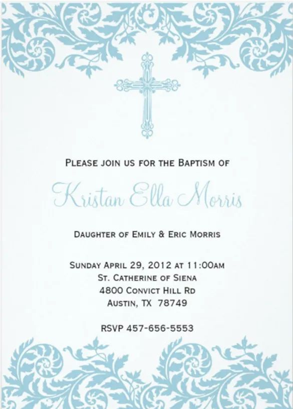 free confirmation invitation templates