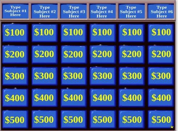 10+ Jeopardy PowerPoint Templates \u2013 Free Sample, Example Format