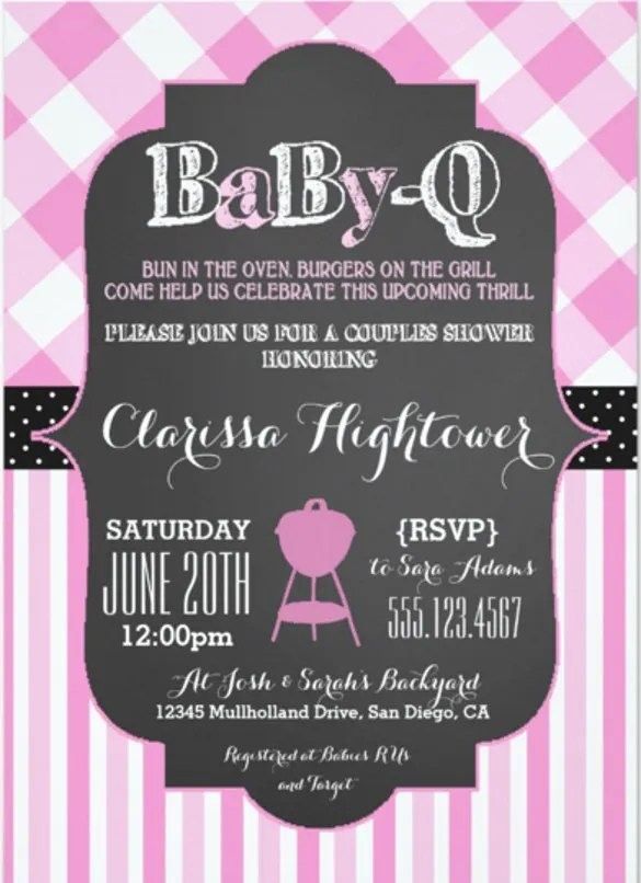 28+ Barbeque Invitation Templates - Free Sample, Example, Format