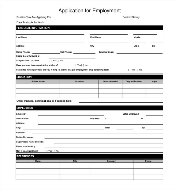 "Winn Dixie Online Job Application Search Results For ""job Application Free Printable"