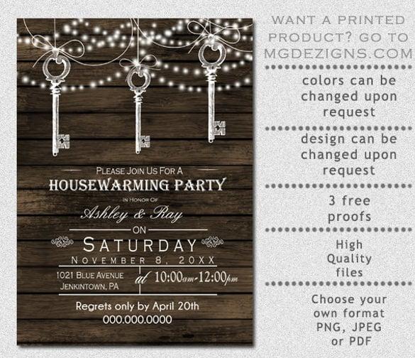 18+ Housewarming Invitation Templates u2013 Free Sample, Example - free party invitations templates online