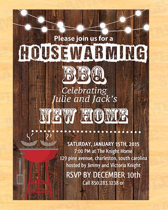 21+ Housewarming Invitation Templates - PSD, AI Free  Premium - housewarming invitation template