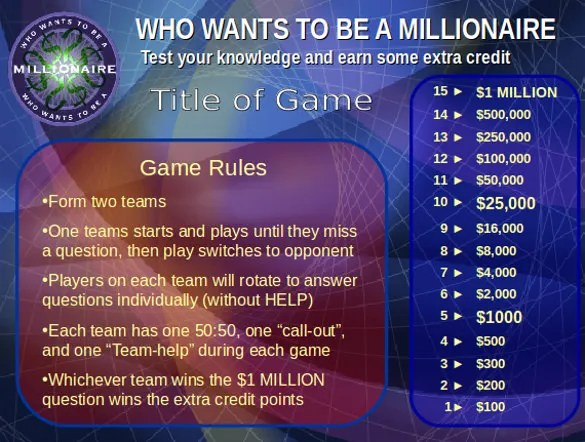 10+ PowerPoint Game Templates u2013 Free Sample, Example, Format - sample jeopardy powerpoint
