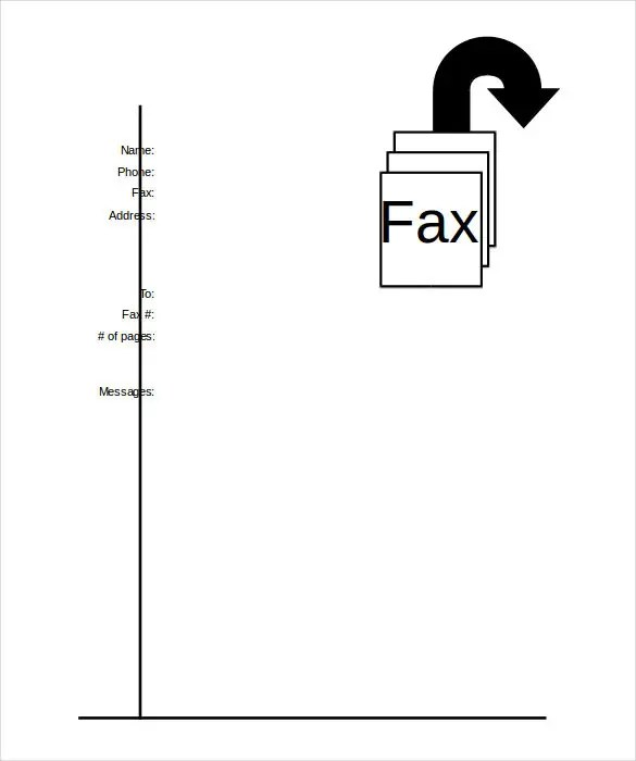 Printable Fax Cover Sheet u2013 10+ Free Word, PDF Documents Download - fax cover sheet to print