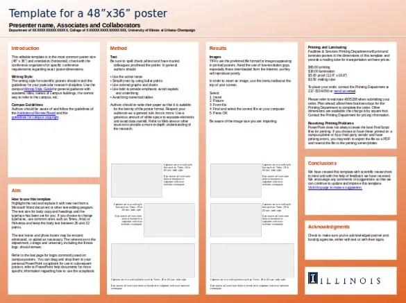 8+ PowerPoint Poster Templates - PPT Free  Premium Templates