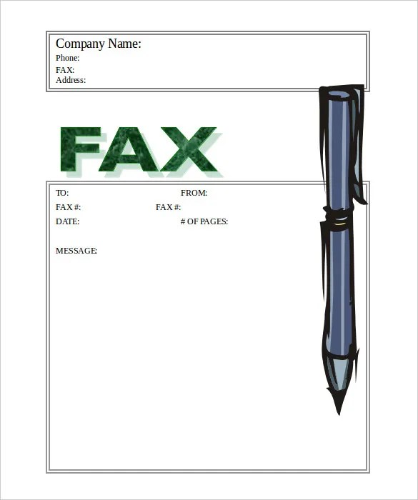 Business Fax Cover Sheet u2013 10+ Free Word, PDF Documents Download - business fax cover sheet