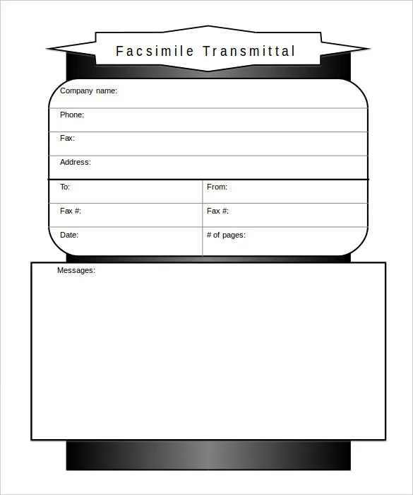10+ Business Fax Cover Sheet Templates \u2013 Free Sample, Example Format - Sample Modern Fax Cover Sheet