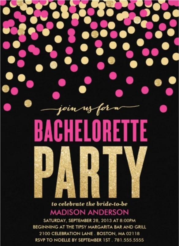 19+ Bachelorette Invitation Templates u2013 Free Sample, Example - flyer invitation templates free