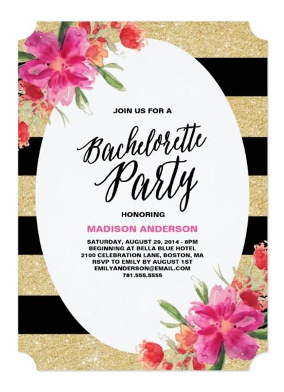 bachelorette invite template - Eczasolinf