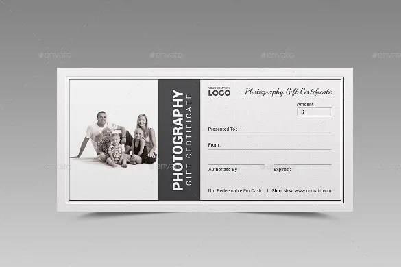 11+ Photography Gift Certificate Templates u2013 Free Sample, Example - printable gift certificates free template