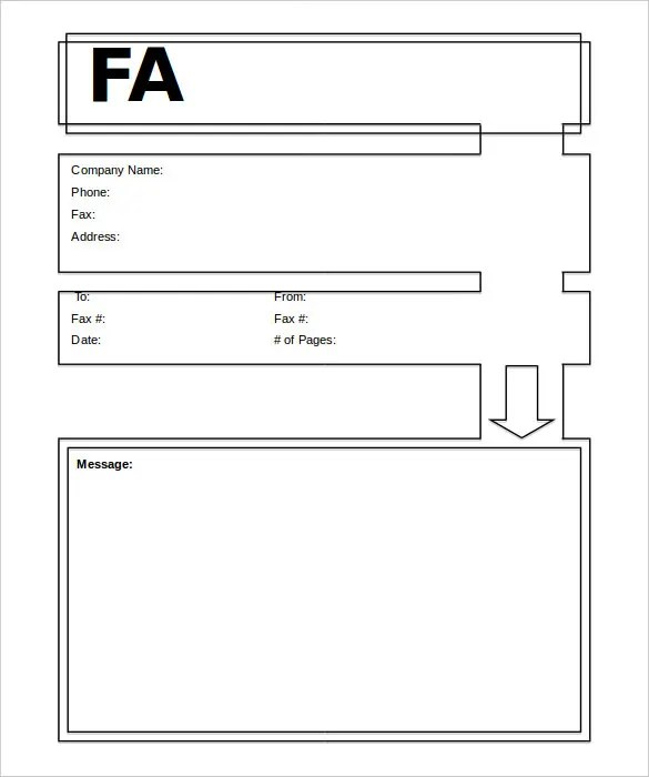 10+ Generic Fax Cover Sheet Templates \u2013 Free Sample, Example Format - Sample Modern Fax Cover Sheet