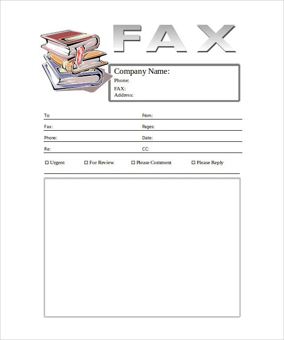 6+ Generic Fax Cover Sheet Templates - Free Sample, Example Format
