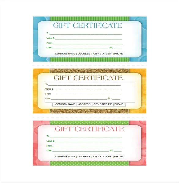 14+ Business Gift Certificate Templates - Free Sample, Example