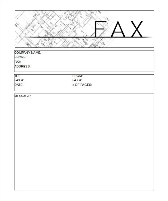 12+ Printable Fax Cover Sheet Templates \u2013 Free Sample, Example - Fax Letter Format Sample
