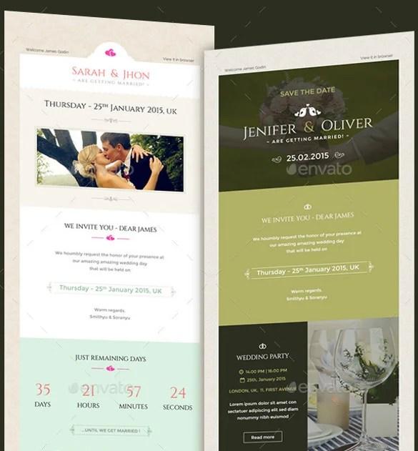 20+ Email Invitation Templates - PSD, AI, Word Free  Premium